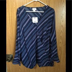 BNWT beautiful striped blouse